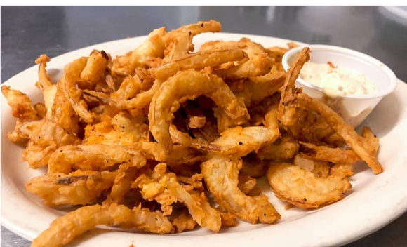 Hand Cut Onion Straws
